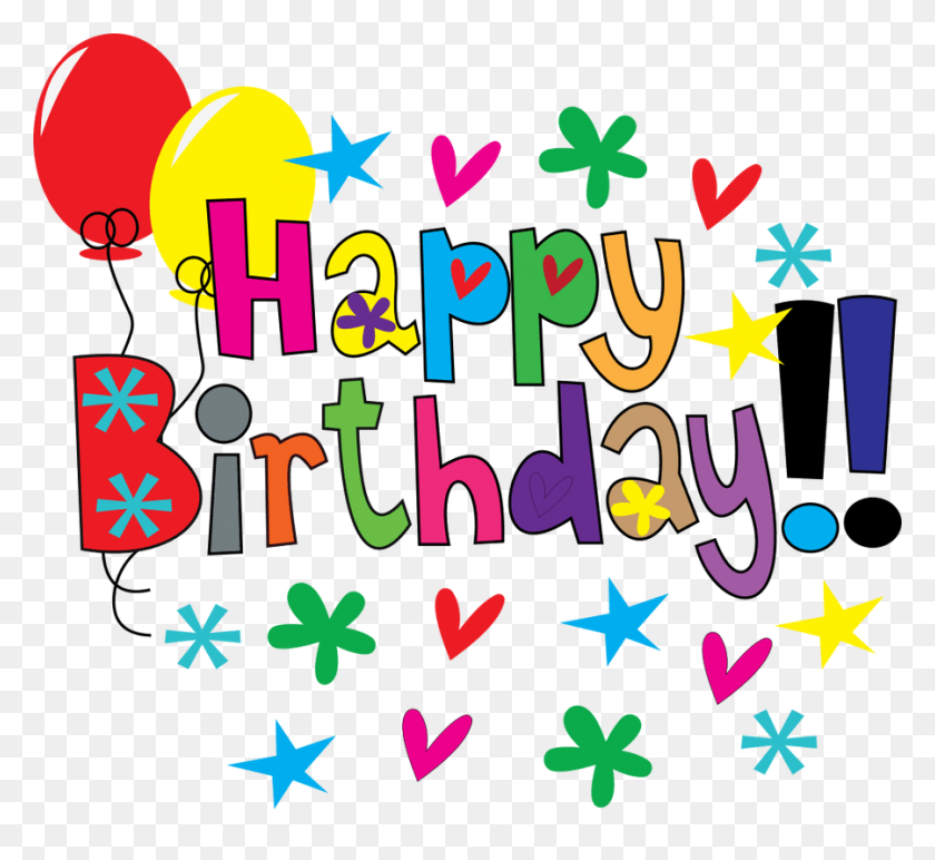 Clip Art Happy Birthday Cakes And On Wikiclipart - Birthday Cake Clip Art