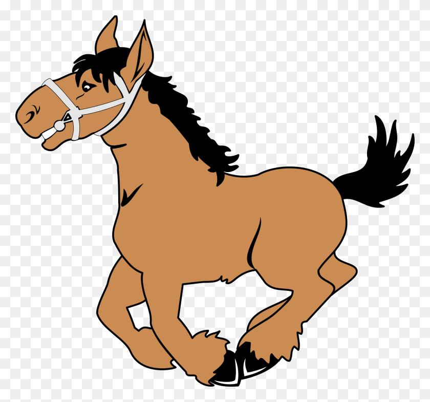 Clip Art Horses - Mule Clipart Black And White