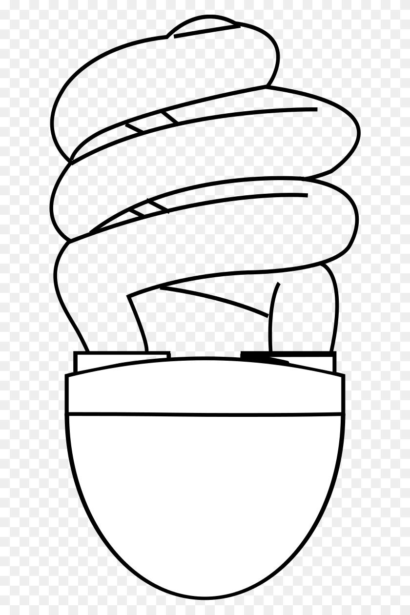 Clip Art Light Bulb - Light Bulb Clipart Black And White