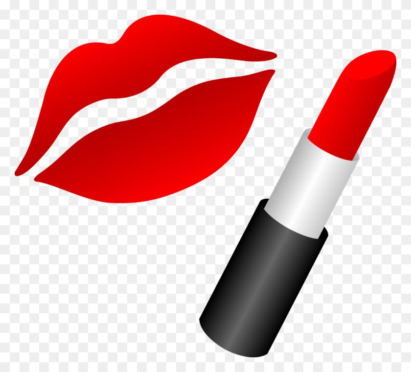 Clip Art Lips - Smiling Lips Clipart