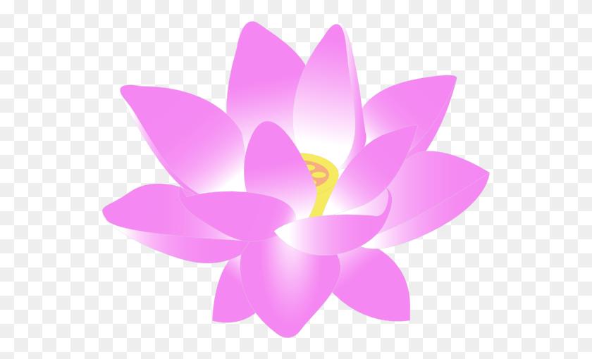 550x450 Clip Art Lotus Flower Free - Lotus Flower Clipart