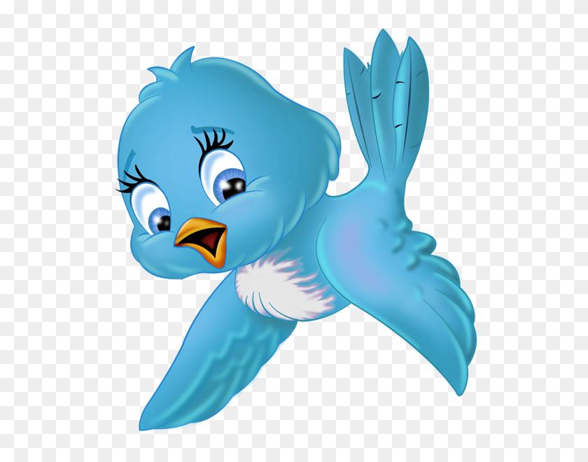 Clip Art Mix !! Birds, Blue - Cartoon Bird PNG