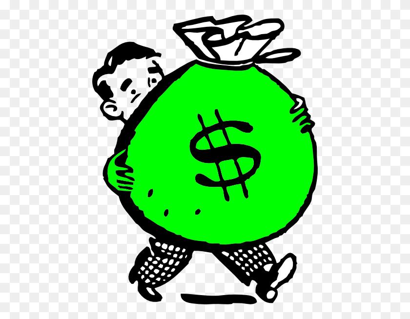 Clip Art Money Bag - Bag Of Chips Clipart