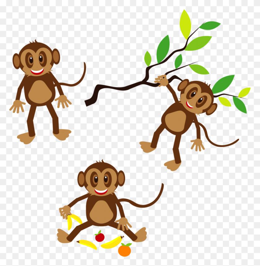 Clip Art Monkey - Girl Monkey Clipart