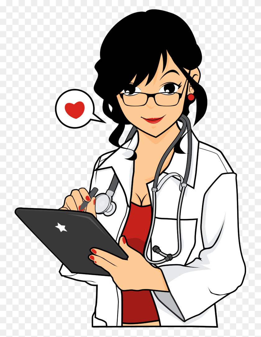 Clip Art Nurse - Male Nurse Clipart