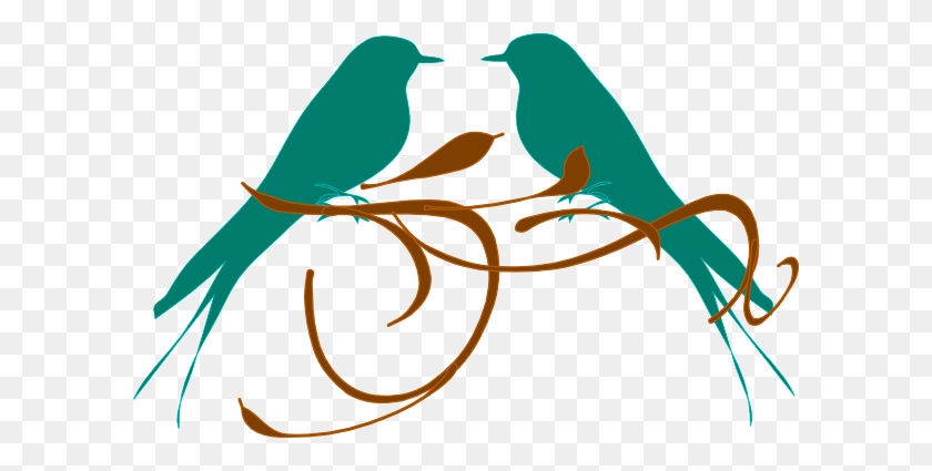 Clip Art Of A Bird On A Branch Winging - Bird Nest Clipart