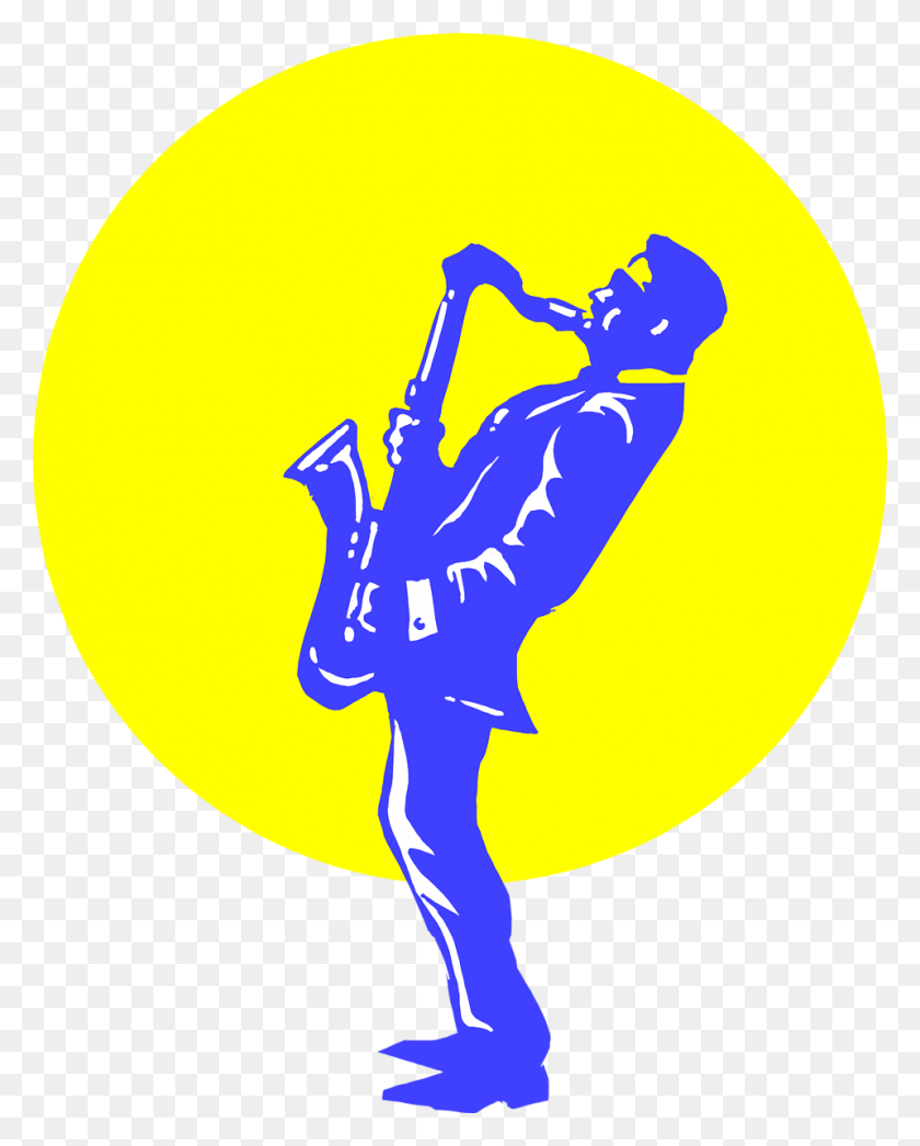 Clip Art Of Choir Director Or Guitar Player Image Information - Choir Clipart Free