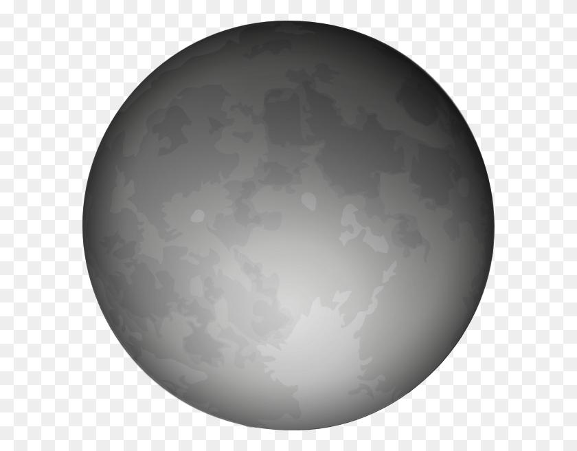 Clip Art Of Realistic Moons Clipart - Moon Clipart
