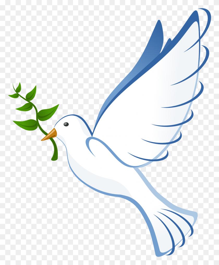 1331x1636 Clip Art Peace Dove Fav Wall Paper - Free Clipart Dove Of Peace