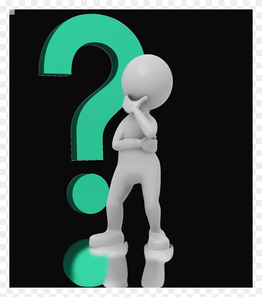 Clip Art Person Thinking With Question Mark Yikrtuz - Question And Answer Clipart