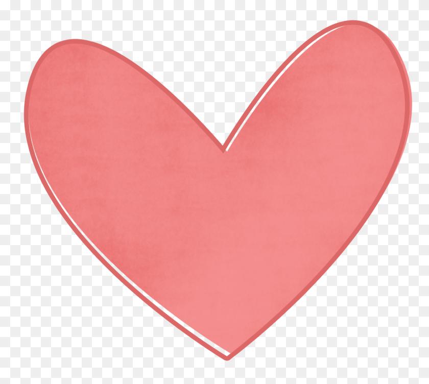 Clip Art Pink Heart - Pink Heart Clipart