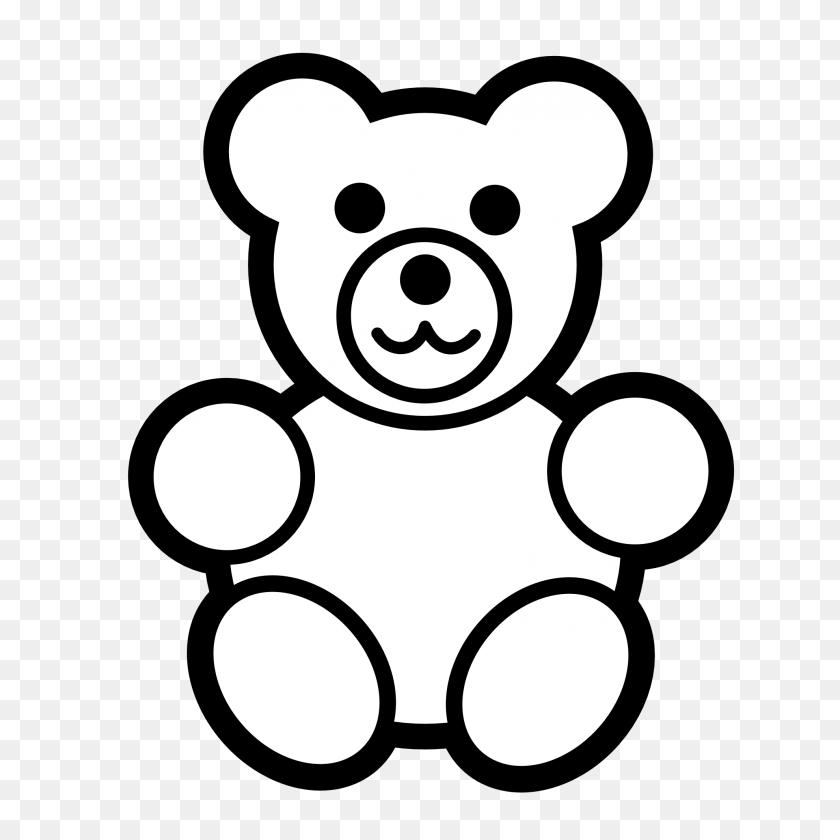 Clip Art Pitr Teddy Bear - Panda Bear Clipart