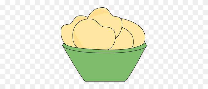350x301 Clip Art Potato Chips Clipart - Sack Race Clipart