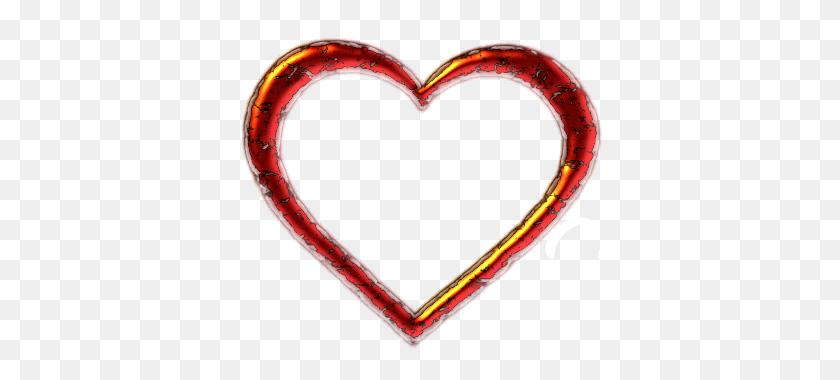 Clip Art Red Heart Shaped Border Heart Borders - Heart Shape Clipart