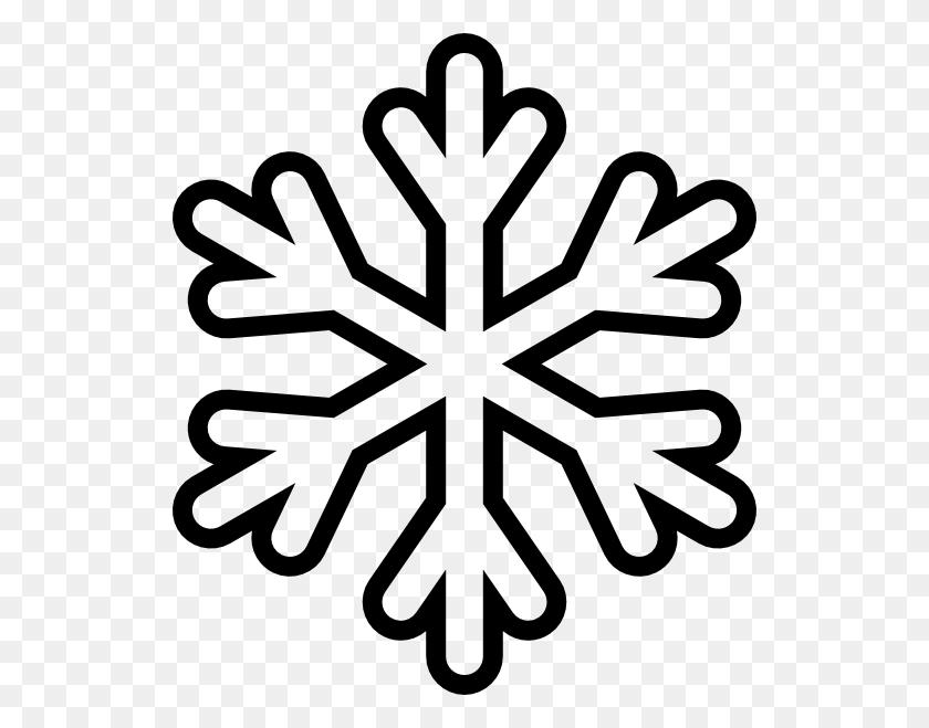 Clip Art Snow Snow Outline - Snow Clipart Free