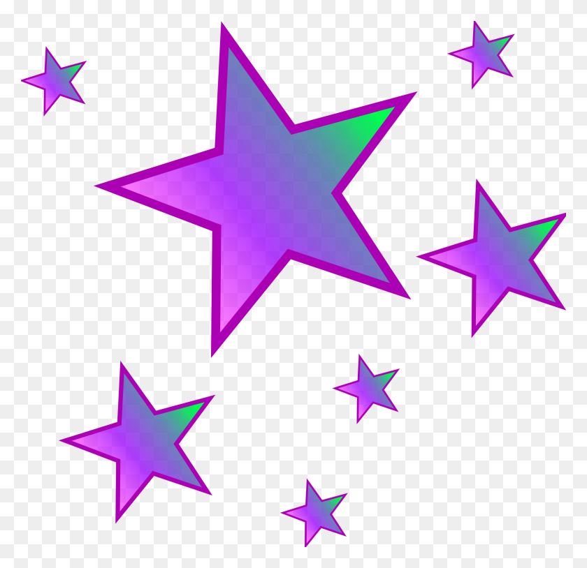 Clip Art Stars - Gold Stars PNG