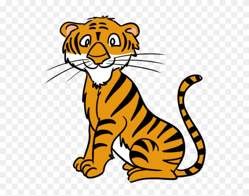 Clip Art Tiger - Running Cat Clipart