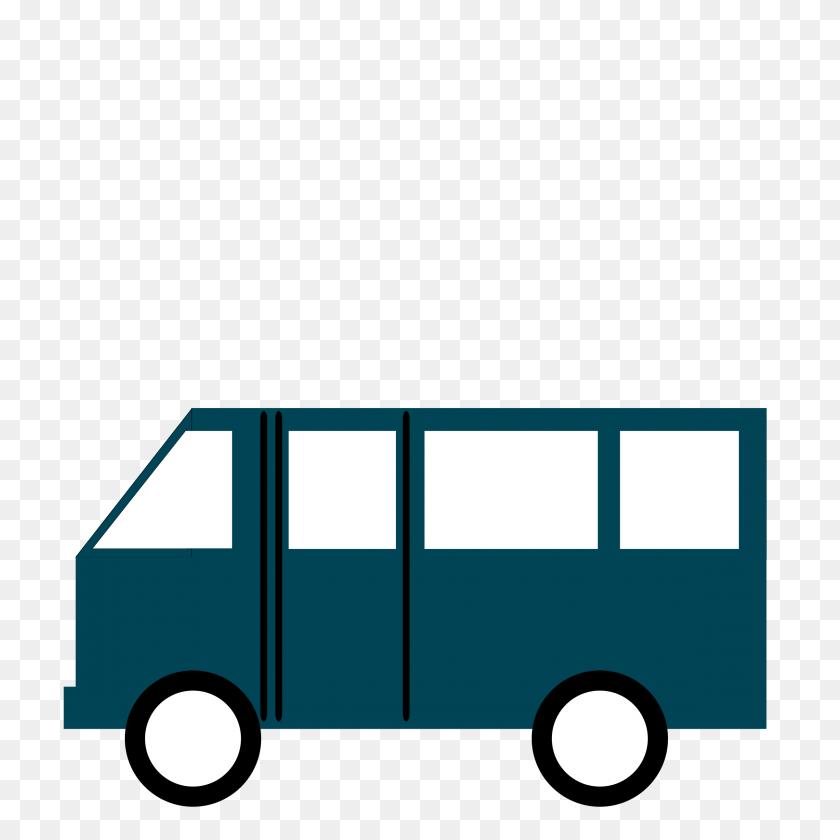 Clip Art Van - Moving Van Clipart