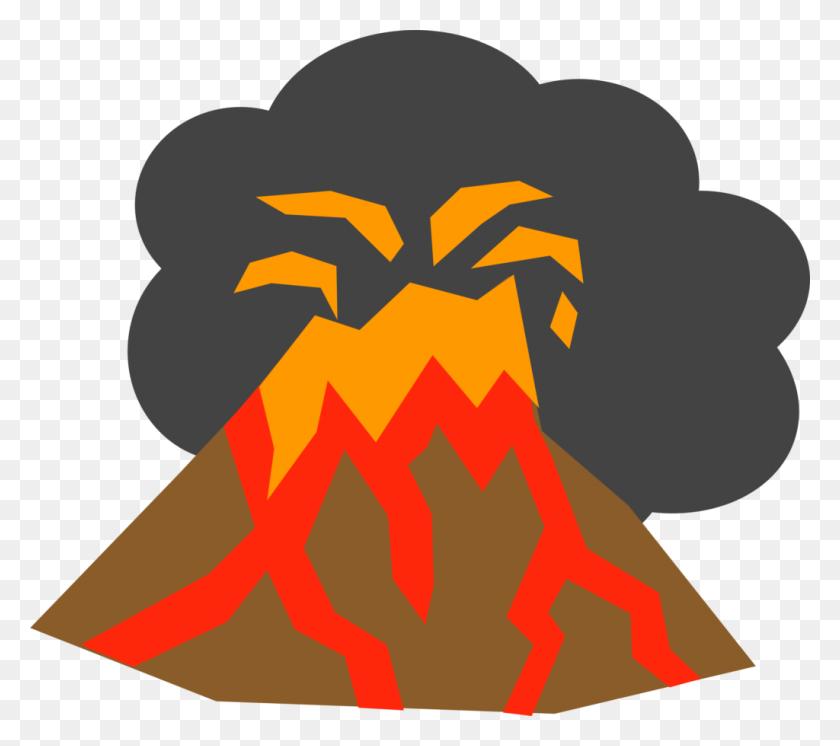 Clip Art Volcano - Volcano Black And White Clipart