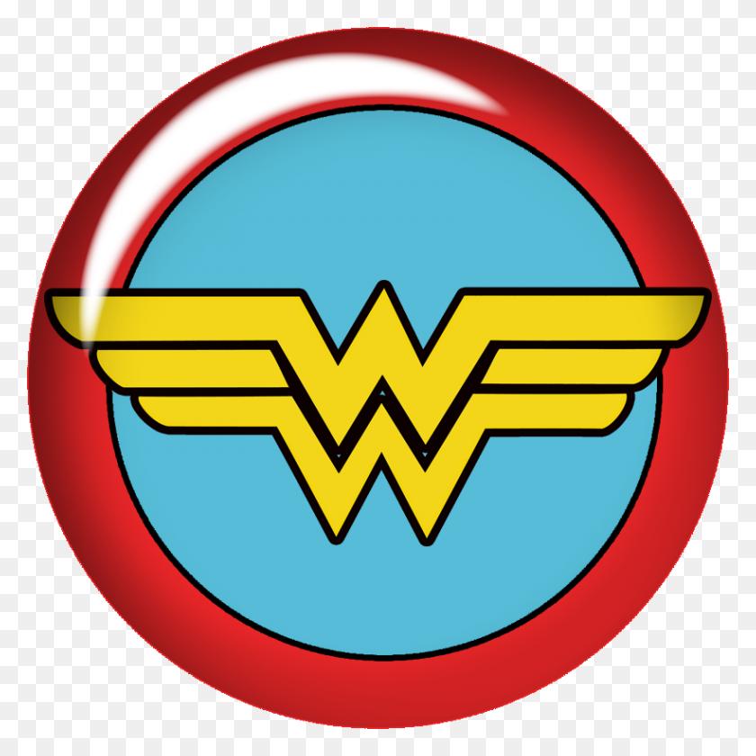 819x819 Clip Art Wonder Woman Baby Clipart Fjmutbr - Wonder Clipart