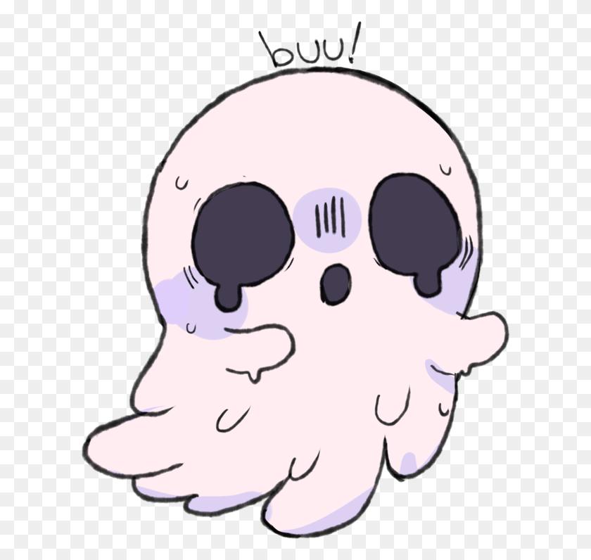 Clip Creepy Kawaii Cute Haloween Pictures - Cute Ghost PNG