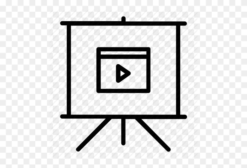 Clip, Deck, Movie, Pitch, Powerpoint, Presentation, Slide - Slide Black And White Clipart