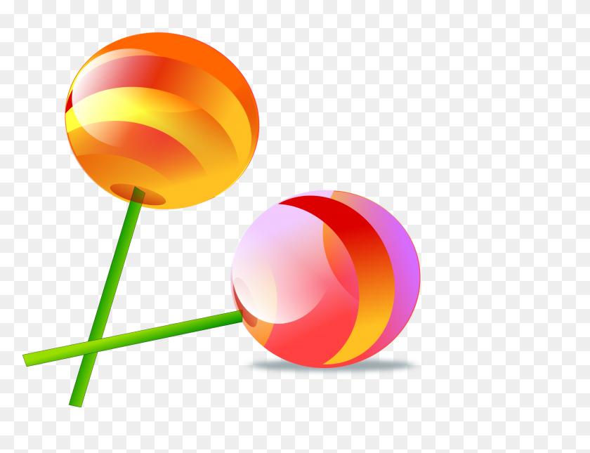 2400x1800 Clipart - Lollipop Clip Art