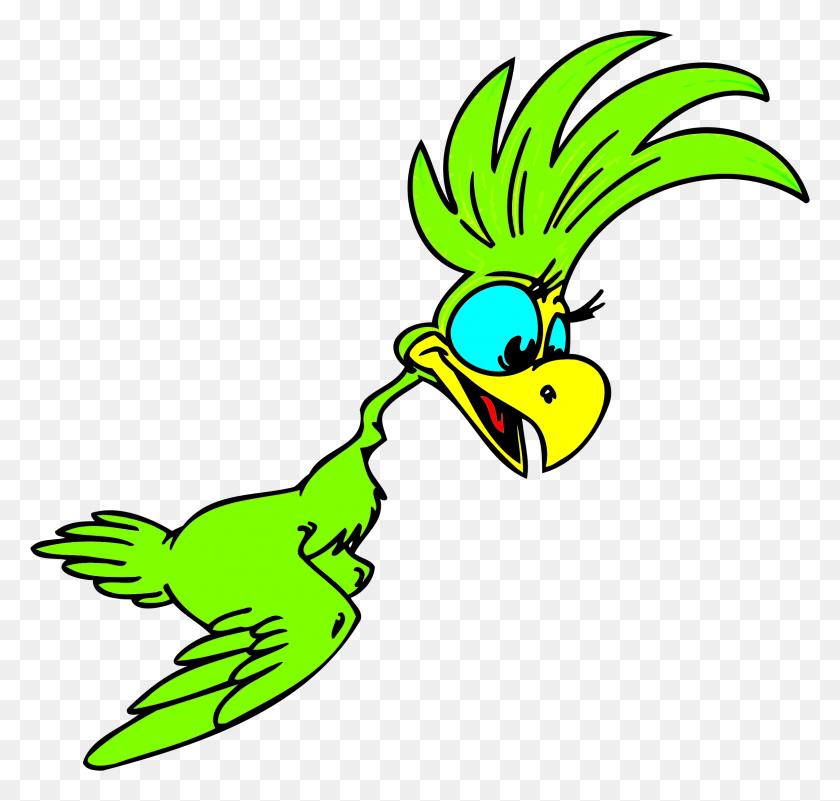 2319x2204 Clipart - Parrot Clipart