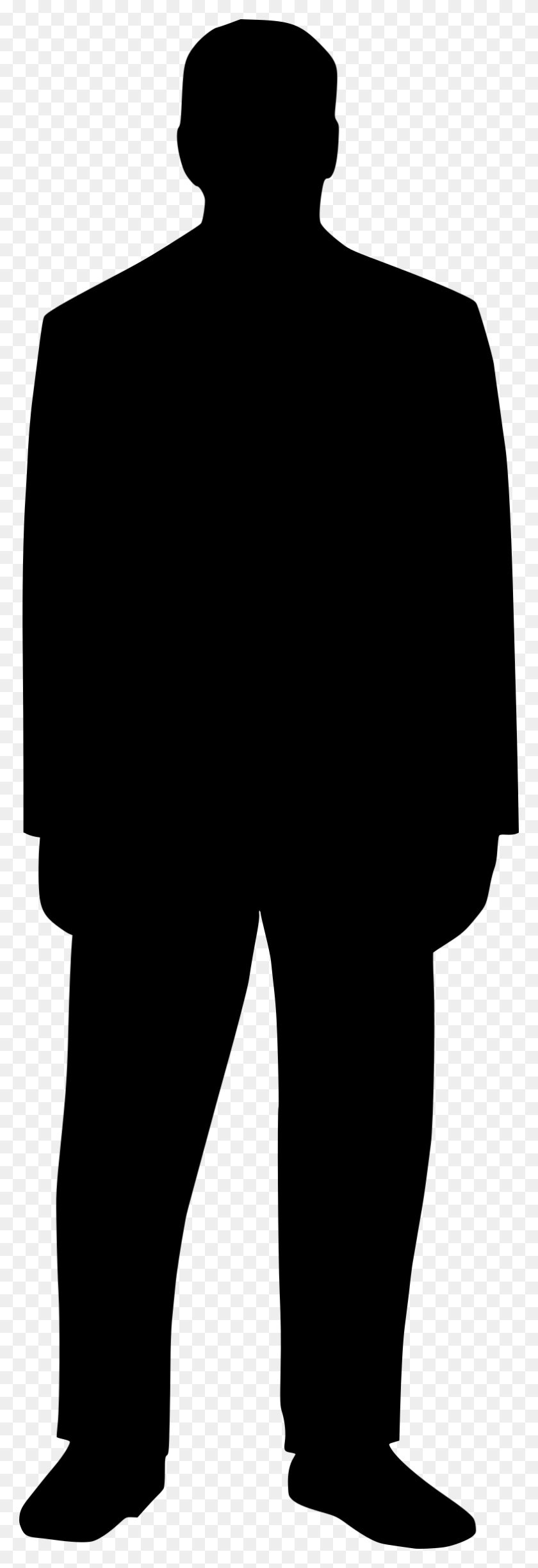 Clipart - People Standing PNG