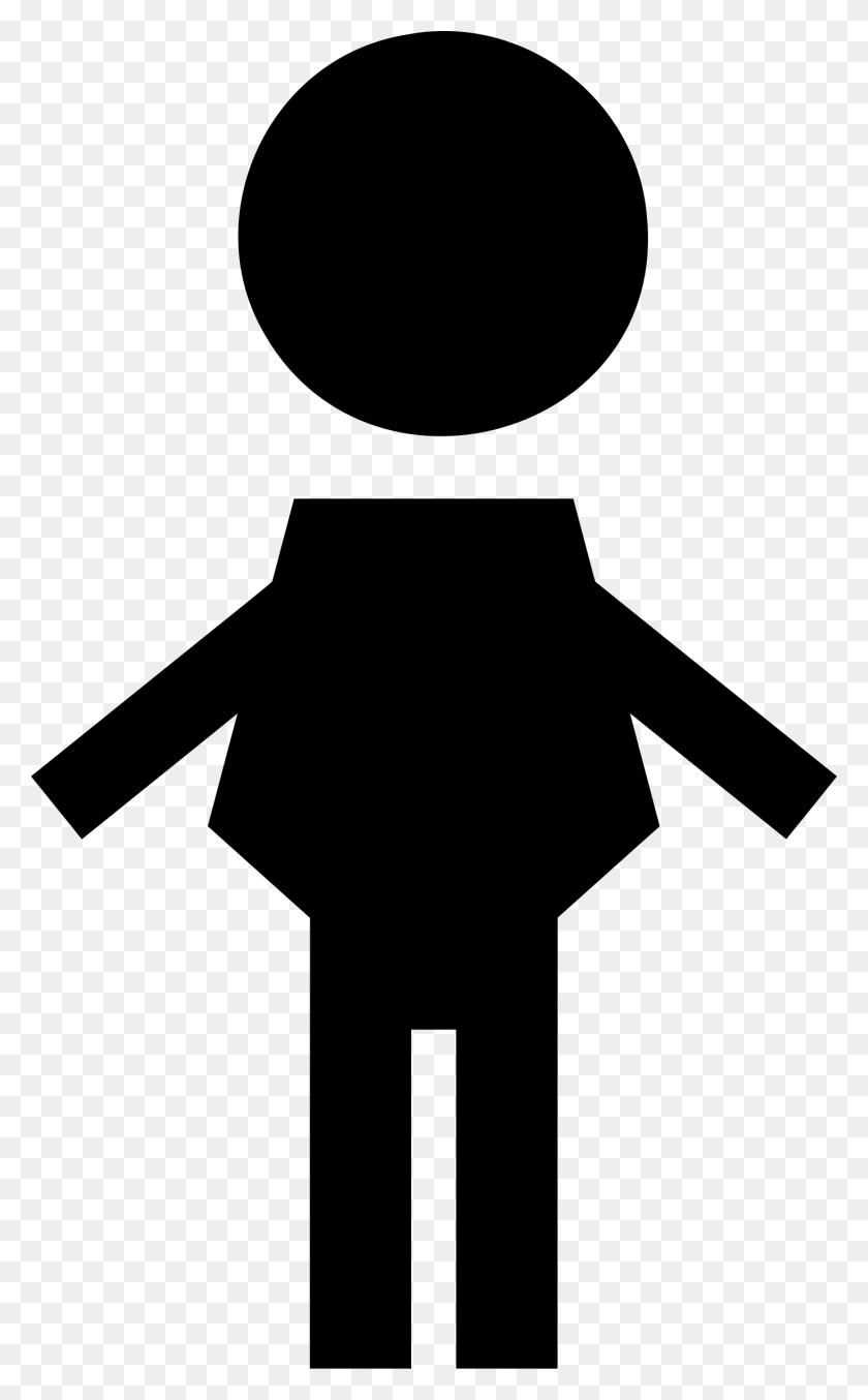 Clipart - Male Symbol Clipart