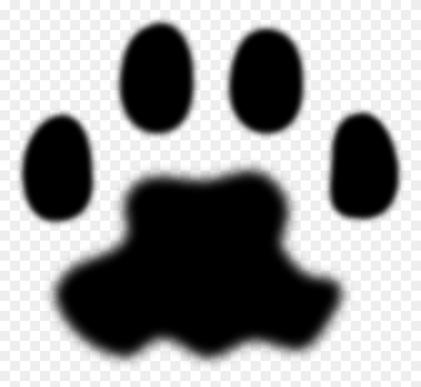 Clipart - Puppy Paw Print Clip Art