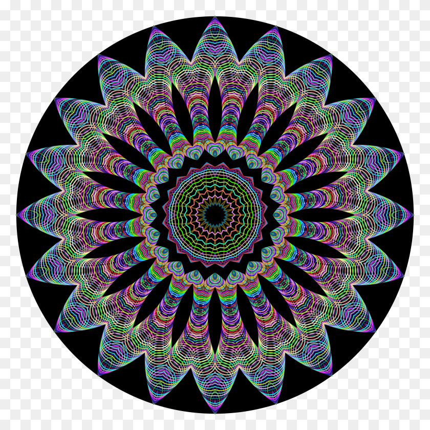 2352x2352 Clipart - Mandala Clipart