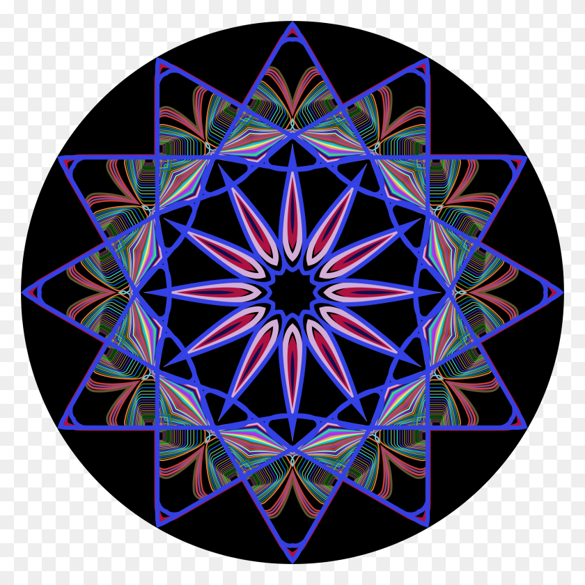 2302x2302 Clipart - Mandala Clipart