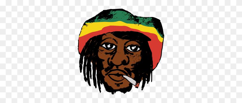 Clipart - Rastafarian Clipart