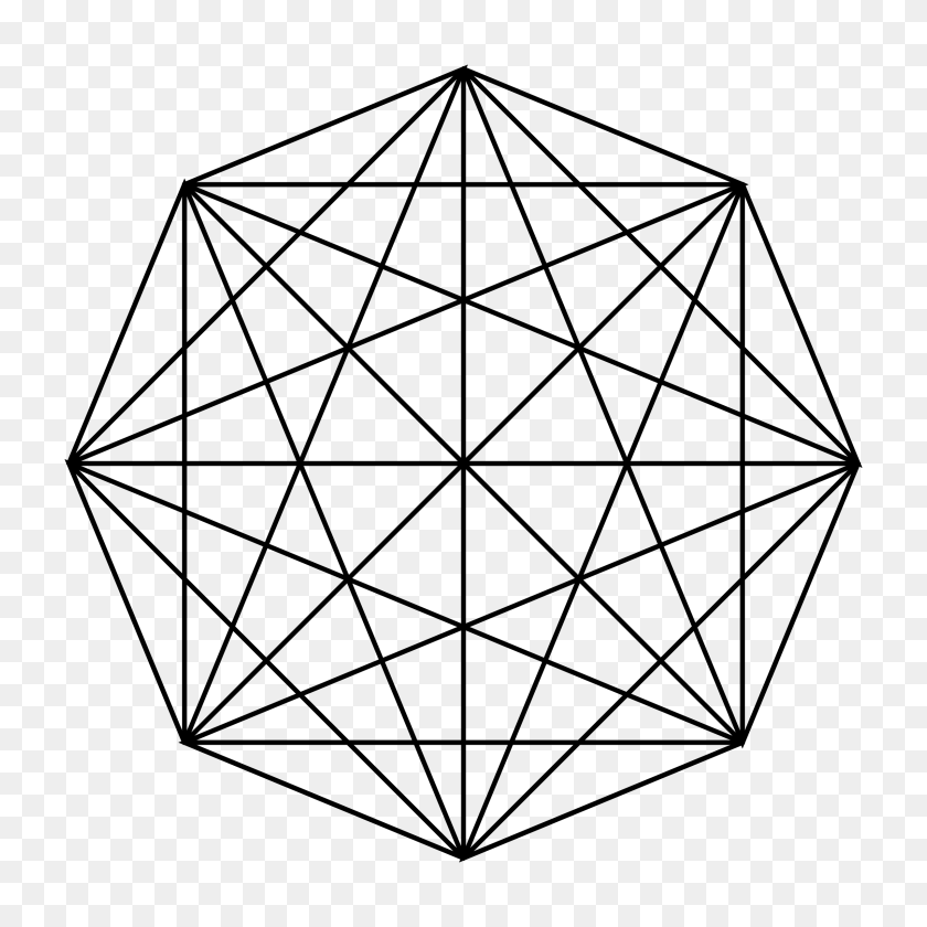 2400x2400 Clipart - Sacred Geometry PNG