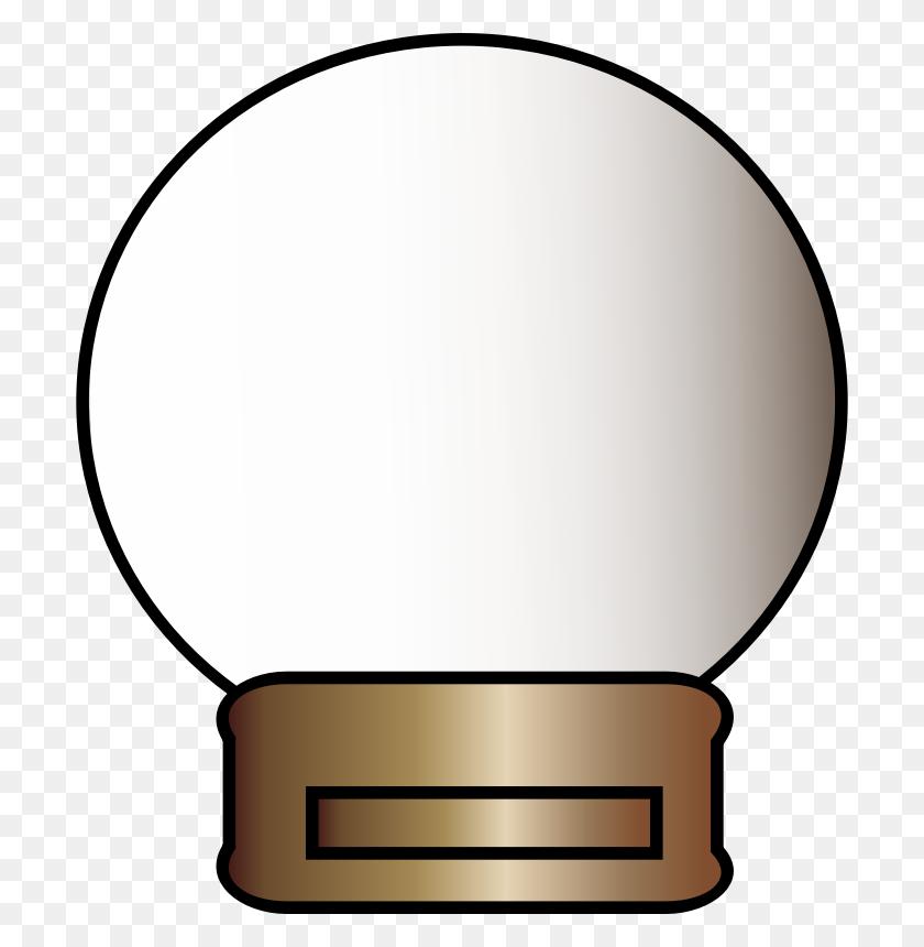 Clipart - Snow Globe Clipart