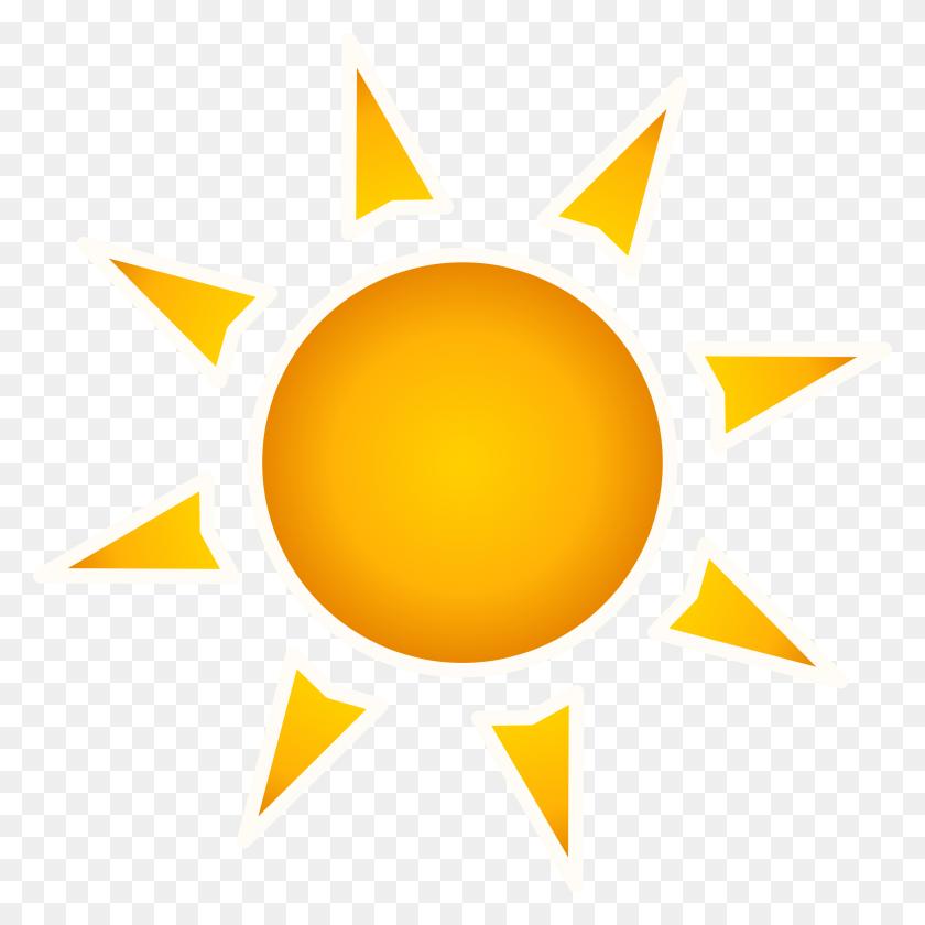 Clipart - Yellow Sun Clipart