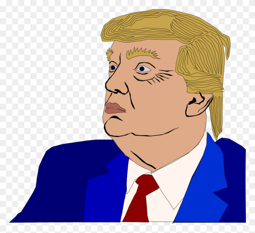 Clipart - Trump Face PNG