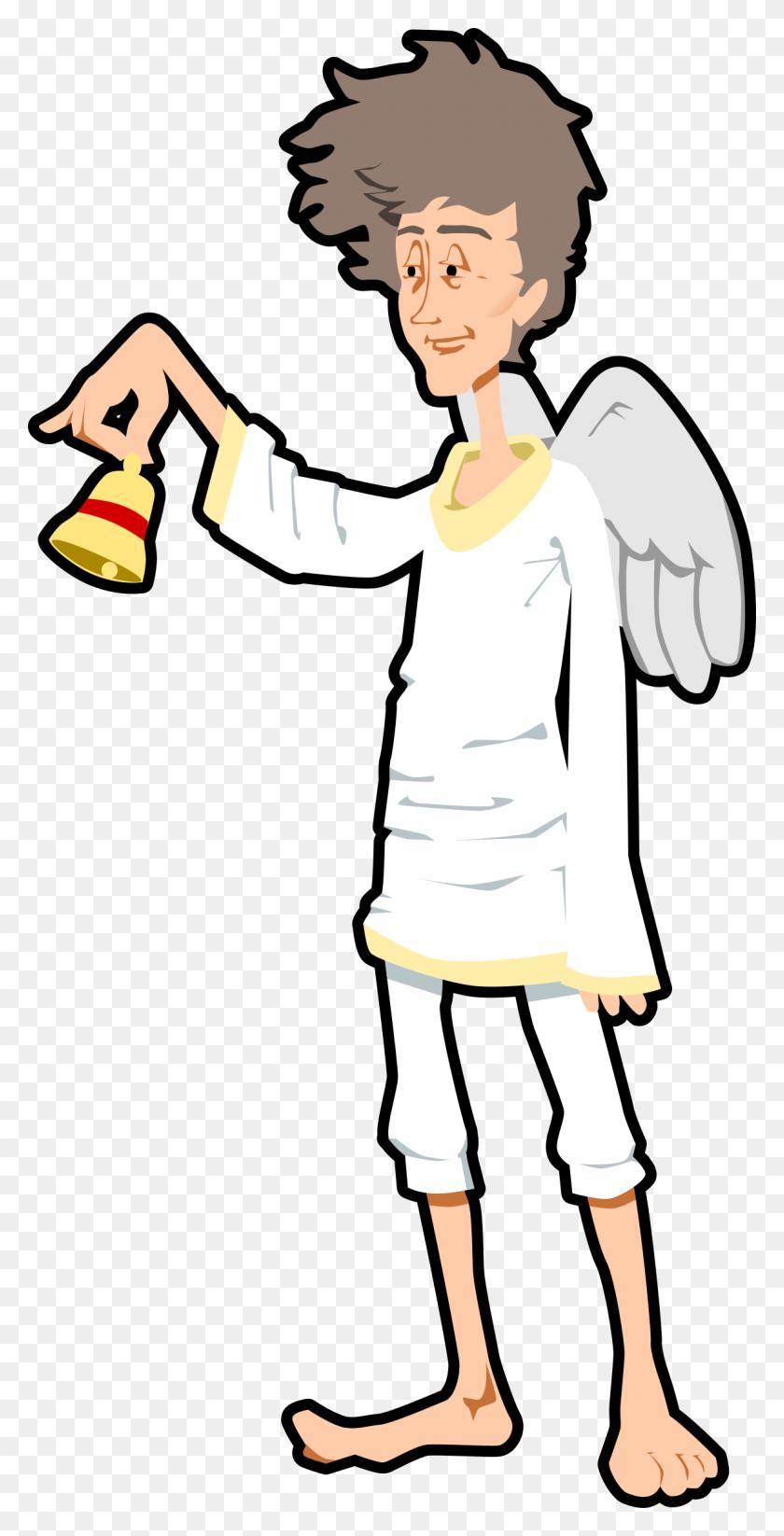 Clipart - Boy Angel Clipart
