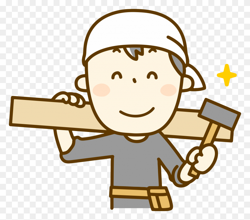 Clipart - Carpenter Clipart