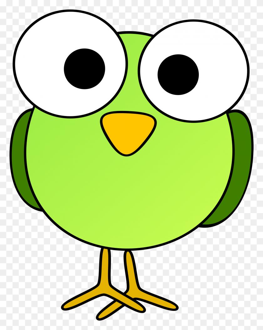 Clipart - Cartoon Bird PNG