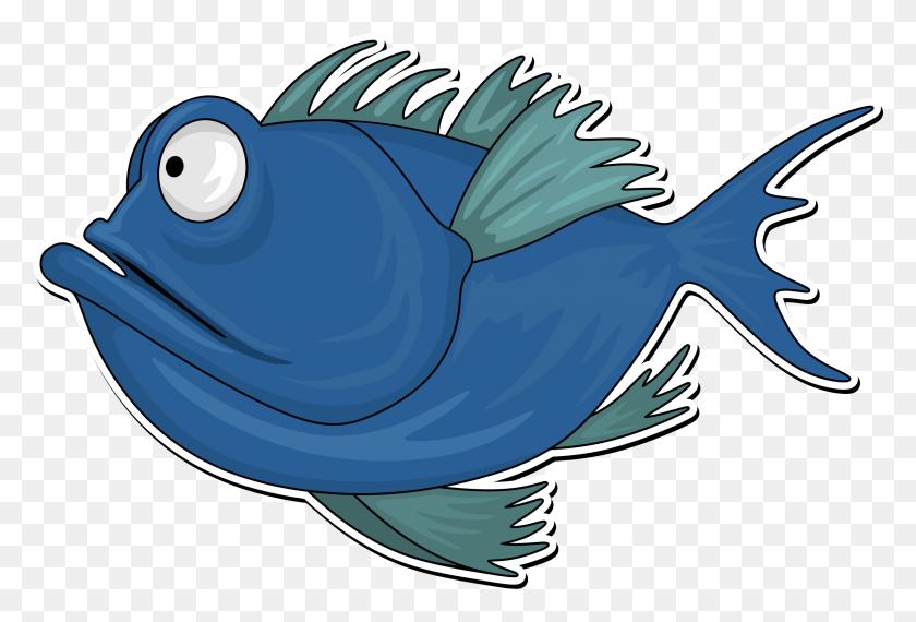 Clipart - Cartoon Fish PNG