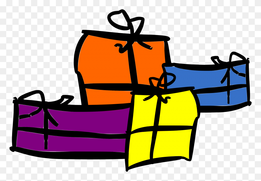 Clipart - Christmas Presents PNG