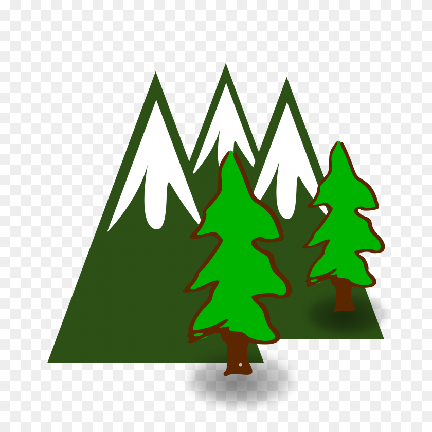 Clipart - Mountains Clipart PNG