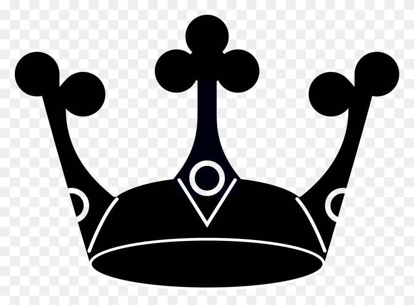 Clipart - Crown Silhouette Clip Art