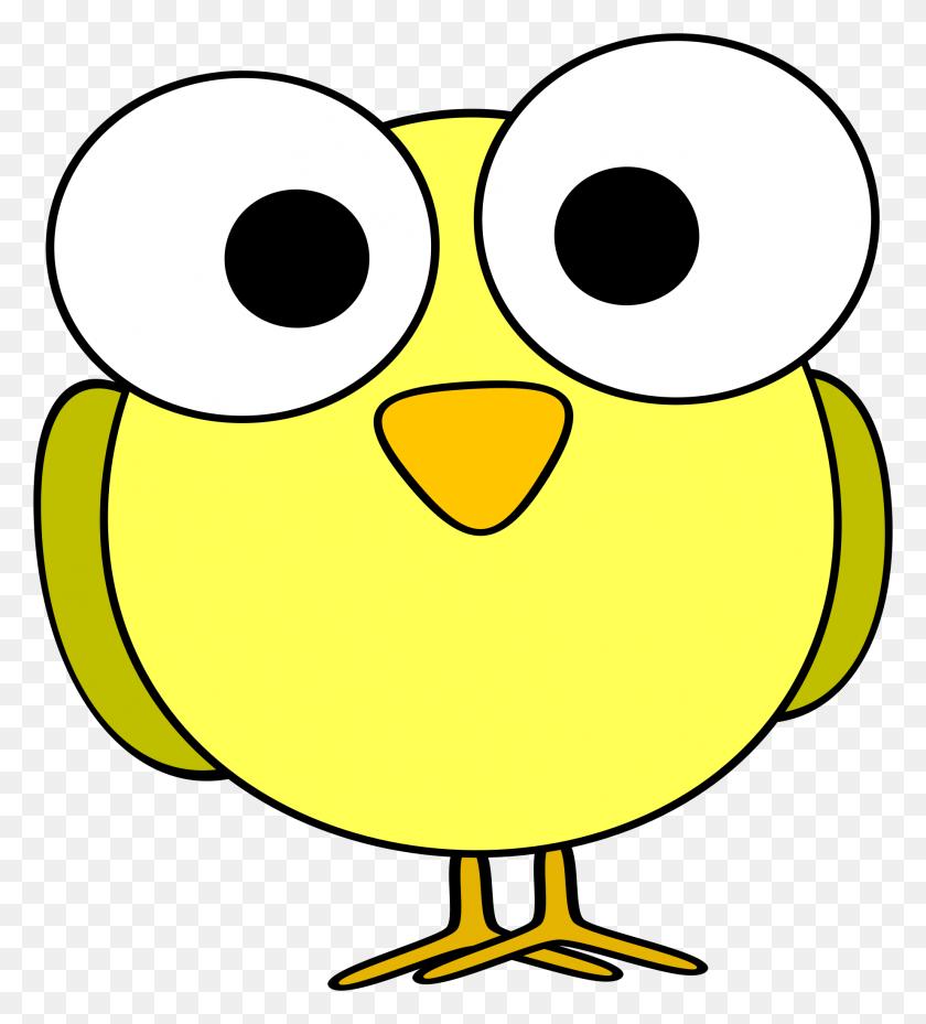 1843x2055 Clipart - Cute Bird Clipart