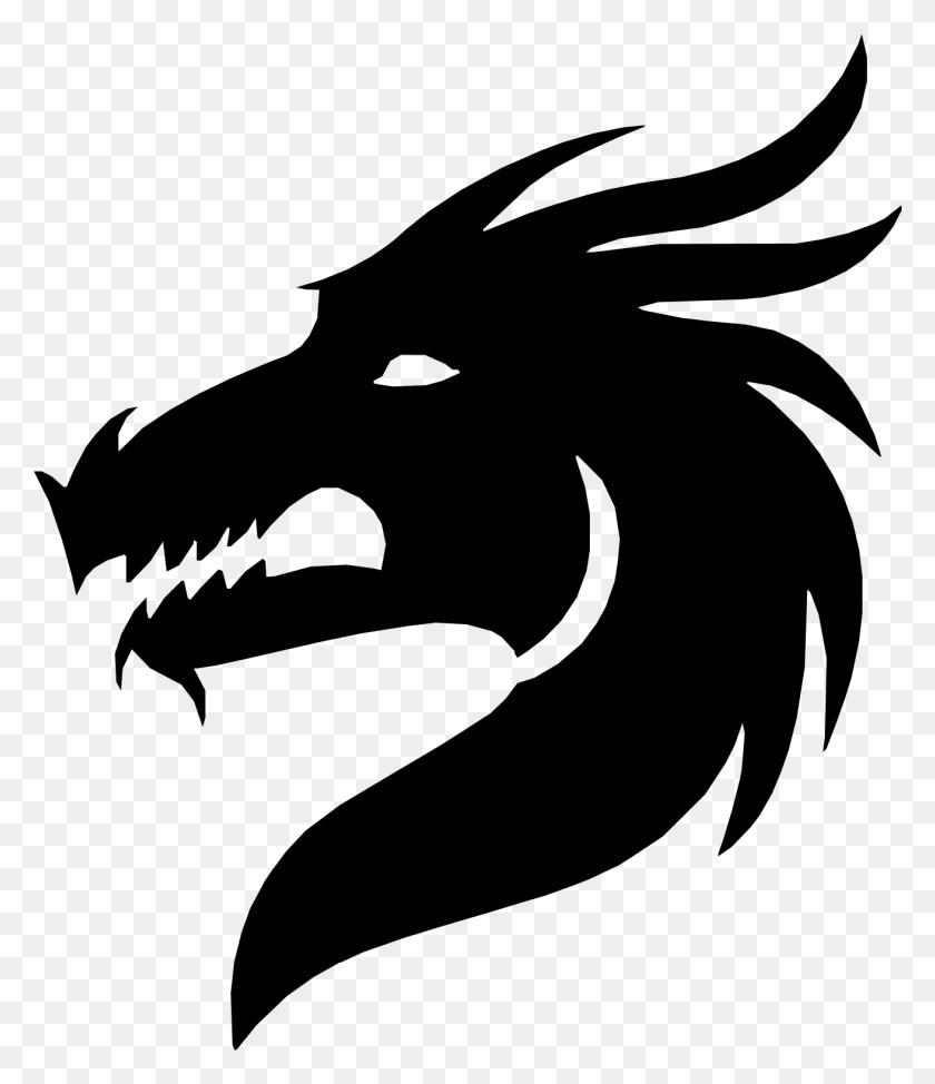 Clipart - Dragon Head Clipart