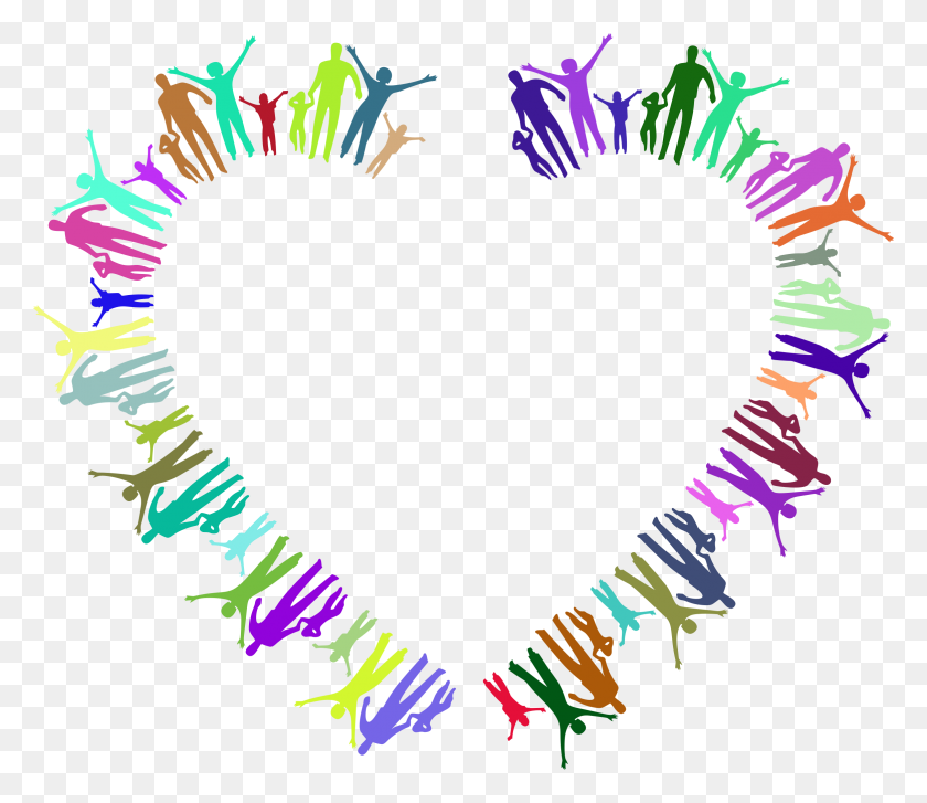 Clipart - Family Heart Clipart