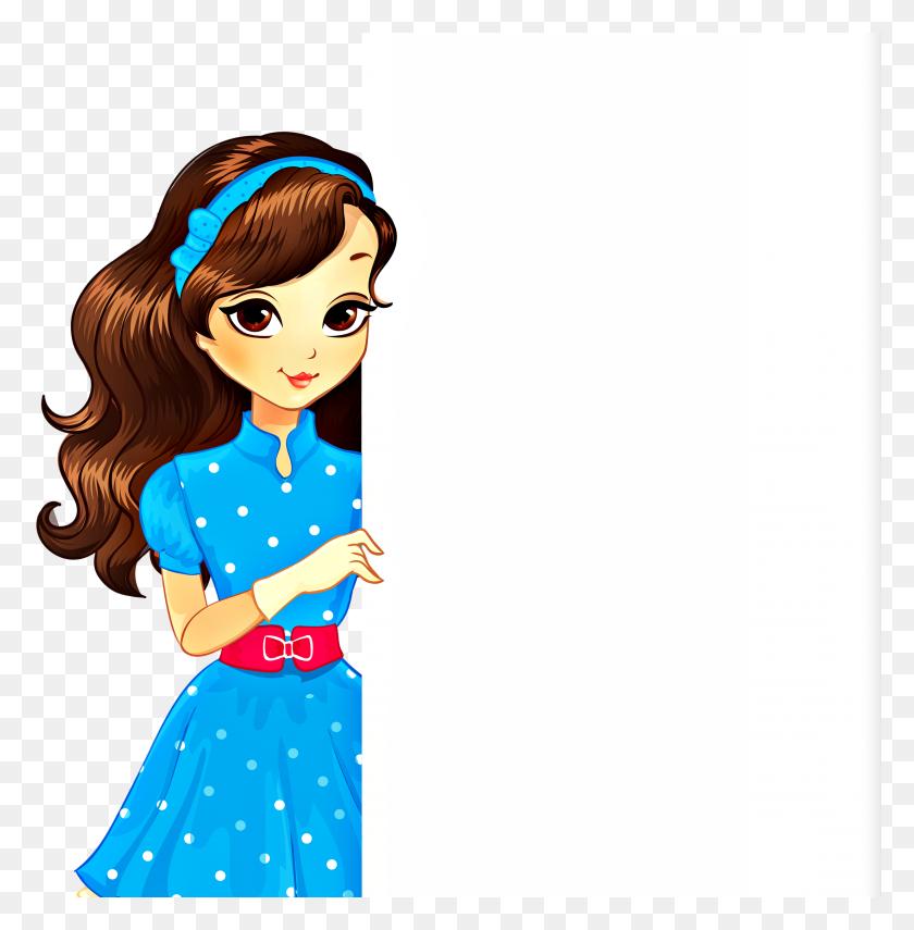 Clipart - Fashion Girl Clipart