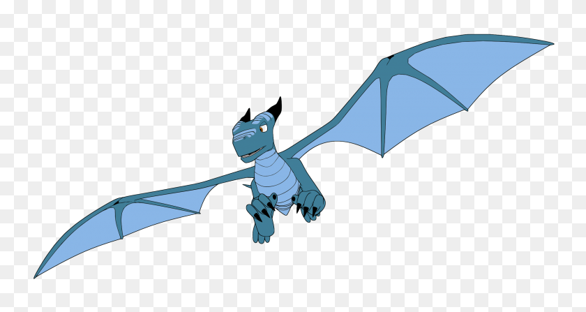 Clipart - Flying Dragon Clipart